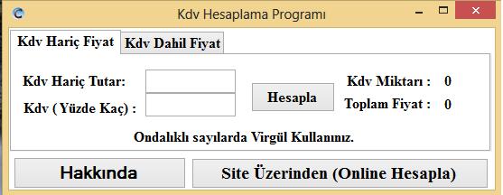 kdvhesap